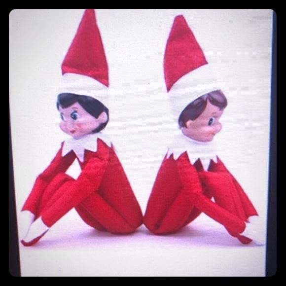 Christmas Elf On The Shelf Images.Elf Shelf Red Green Boy Girl Christmas Plush Dolls Nwt